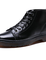 Men's Oxfords Spring / Summer/Fall/Winter Comfort / Combat Boots Nappa Leather Outdoor / Athletic / Casual Black
