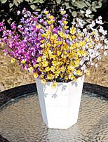 Hi-Q 1Pc Decorative Flowers Plum Wedding Home Table Decoration Artificial Flowers