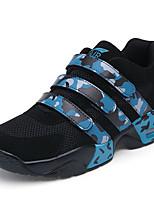 Da uomo-Sneakers-Sportivo-Comoda-Piatto-Tulle / Finta pelle-Nero / Blu / Rosso / Bianco
