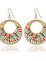 1pair/gold Hoop Earrings  forWomen