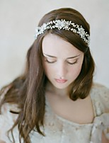 Women's Rhinestone / Alloy /Wedding / Special Occasion / Casual Headbands / Flowers / Head Chain / Hair Tool 1 Piece