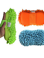 Coral Sponge Cleaning Thickening Buckle Car Cleaning Sponges Mitts Dust Shan Gloves