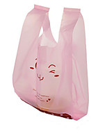 Small Plastic Bags Child Cosmetics Gift Bag Supermarket Shopping Bags Wholesale Custom Vest Pe