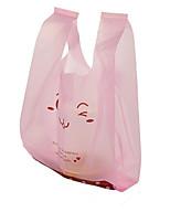 небольшие пластиковые мешки ребенка косметики мешок подарка супермаркета сумки оптовые жилет из пэ