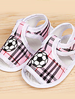 Boy's / Girl's Sandals Summer Open Toe / Sandals Cotton Casual Blue / Brown / Pink / Red