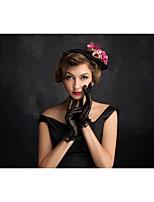 Vrouwen Tule / Vlas / Net Helm-Speciale gelegenheden Fascinators 1 Stuk Helder Onregelmatig 15