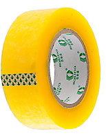 Logistics Yellow Transparent Tape Packing Tape Industrial Tape 15x4.5Cm Wide Trade Selling