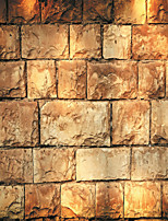 JAMMORY Wallpaper For Home Wall Covering Canvas Adhesive required Mural Golden Yellow Soil Block3XL(14'7''*9'2'')