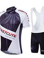 2016 Fastcute Sports Bike/Cycling Jersey+Bib Shorts/Clothing Sets/Suits Men's/Unisex Short Sleeve Breathable/Quick Dry