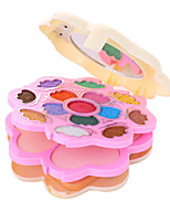 3 Foundation+14 Shadow+2 Blush+ 4 Lip Gloss +Mirror+Powder Puff Makeup Set