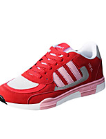 Черный / Синий / Розовый-Унисекс-Для занятий спортом-Тюль-На плоской подошве-На плокой подошве-Спортивная обувь