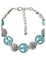 Strand Bracelets 1pc,Fashionable Circle Green Alloy Jewelry Gifts