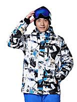 Outdoor Ski Suit Jacket Windproof Waterproof Breathable Warmth