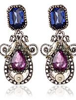 1pair/Blue/White Stud Earrings forWomen