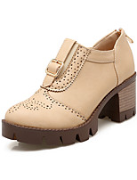 Women's Shoes Fashion Boots / Combat Boots / Round Toe Boots Office & Career / Dress / Casual Chunky Heel Zipper