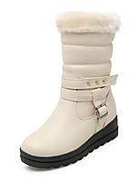 Women's Boots Fall / Winter Fashion Boots Dress Wedge Heel Others Black / Yellow / Red / Beige Walking