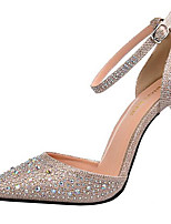 Women's Heels Spring/Summer/Fall Heels Glitter Party & Evening/Casual Stiletto Heel Wedding Black/Silver/Gold
