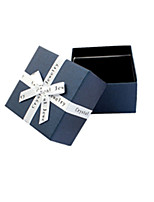 Blue Color, Other Material Packaging & Shipping Jewelry Box A Pack of Three