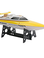 feilun ft007 2.4G 4CH High-Speed-Rennen drehte rc Boot Fernbedienung Schnellboot Wasserkühlung Geschwindigkeit 25 km / h