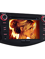 1024*600 Android 5.1 Car DVD Player for Toyota RAV4 2006~2012 Quad Core 7 Inch 2 Din Car Radio GPS Navigation