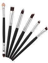 Pro 6pcs makeup Brushes Set Powder Foundation Eyeshadow Eyeliner Lip Brush Tool