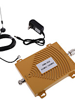 cdma or dCS 850 / 1800MHz double bande kit d'antenne signal de mobile booster répéteur