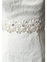 Satijn Huwelijk / Feest/Uitgaan / Dagelijks gebruik Sjerp-Pailletten / Sierstenen / Appliqués / Strass Dames 98½In (250Cm)Pailletten /