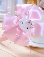cintas para el pelo arco de la tela de flores niña coreana