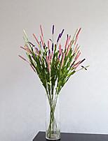 Hi-Q 1Pc Decorative Flower Lavender Wedding Home Table Decoration Artificial Flowers