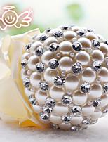 Bouquets de Noiva Redondo Rosas Buquês Casamento Enfeite 4.72