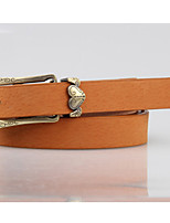 Women Faux Leather Skinny Belt,Casual Alloy Spring / Summer / Fall