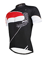 The Existing Paladin Summer Male  Short Sleeve Cycling Jerseys 100% Polyester DX649 Proud Eagle