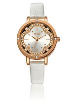 VILAM® Women's Fashion Watches Imitation Diamond Quartz Watch Flowers Crystal Golden Dail Wrist Watches gift