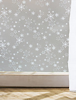 Window Film Window Decals Style Snowflake Matte PVC Window Film - (100 x 45)cm