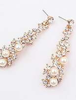 Earring Others Drop Earrings Jewelry Women Fashion Daily / Casual Alloy 1 pair Gold