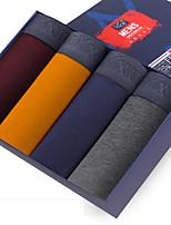 De los hombres Camiseta Interior-Algodón / Fibra de Carbono de Bambú