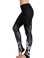 Yoga-Hose Trainingsanzug Atmungsaktiv / Hohe Atmungsaktivität (>15,001g) / Videokompression / Komfortabel Normal Hochelastisch