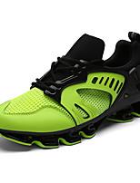 Зеленый / Фиолетовый / Серебристый / Золотистый-Унисекс-На каждый день-Полиуретан-На плоской подошве-Удобная обувь-Кеды