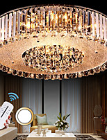 5 Flush Mount   Modern/Contemporary Electroplated Feature for Crystal Metal Living Room / Bedroom / Dining Room