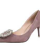 Women's Sandals  / Fall / Winter Heels Velvet Casual Stiletto HeelRhinestone / Crystal / Feather / Bowknot / Applique /
