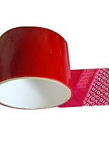 Red Color Plastic Material Packaging & Shipping Adhesive Tape