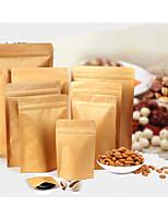 11*18.5cm Self Kraft Paper Bag Composite Aluminum Foil Bag Packaging Moisture-Proof Sealed Bag