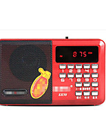 Nintaus K50 Digital Radio Card Mini Audio Song Old Machine Portable Player FM Radio Car Audio