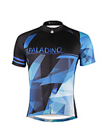PALADIN® Cycling Jersey Men's Short Sleeve BikeBreathable / Quick Dry / Ultraviolet Resistant / Compression / Lightweight Materials /