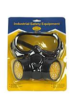 Industriestaubschutzgasmasken (Material: Gummi&Kunststoffe&Aktivkohle;)