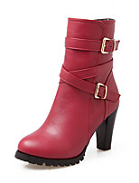 Women's Boots Winter Heels / Platform / Riding Boots / Fashion Boots / Bootie / Comfort / Pointed ToePatent Leather /