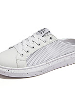 Summer Cool Breathable Hollow Mesh Slip-on Flat Shoes for Men in Casual Style Man's Lazy Shoes