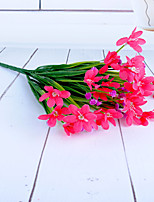 Hi-Q 1Pc Decorative Flowers Orchids Wedding Home Table Decoration Artificial Flowers