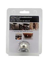 Multi Function Car Magnet Bracket 360 Degree Stick Type Mobile Phone Clip