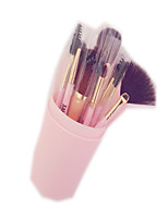 12 Makeup Brushes Set Synthetic Hair Professional / Full Coverage / Portable Plastic Face / Eye / Lip With Cosmetic Bag